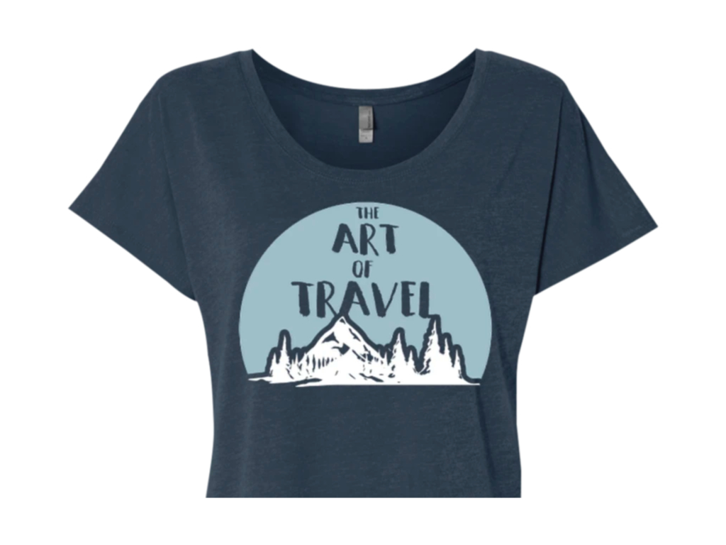 art of travel t-shirt