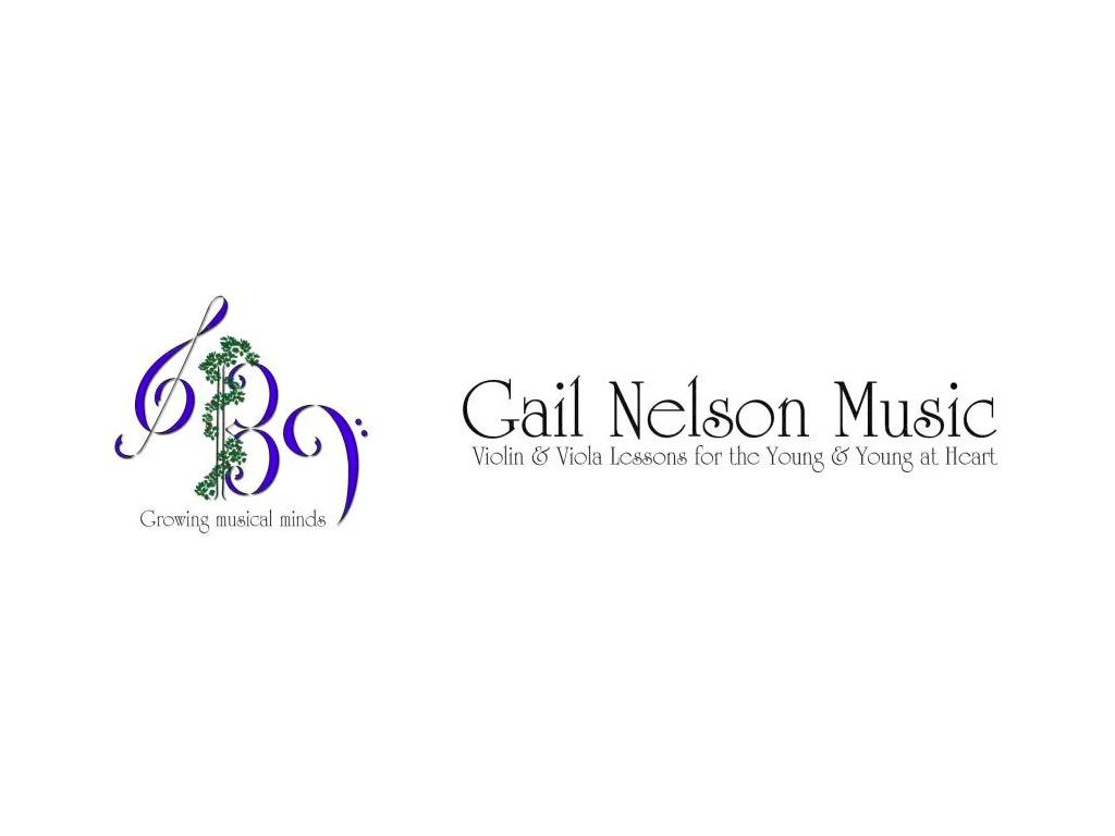 gail nelson music logo