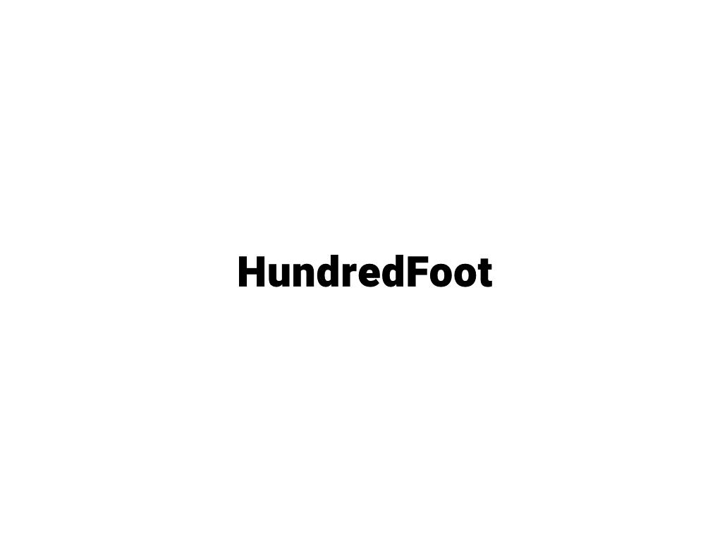 hundred foot logo