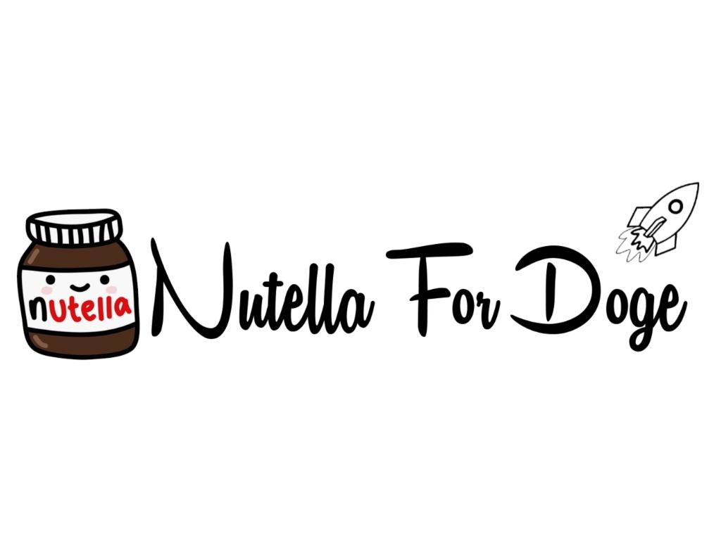 nutella for doge logo