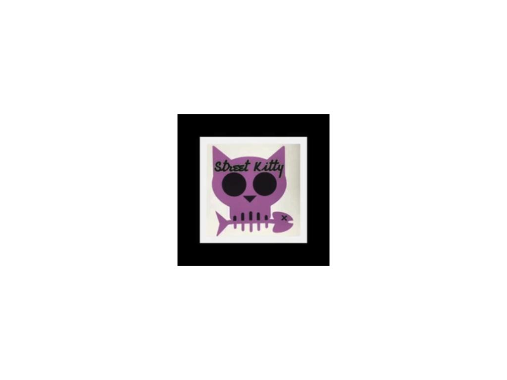 street kitty glass logo