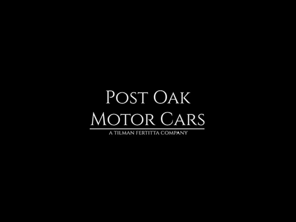 post oak motor cars logo