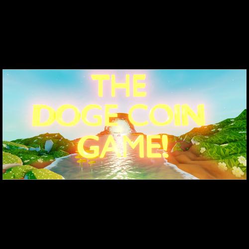 doge coin game logo