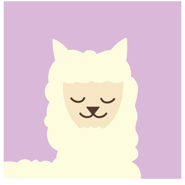 Alpaca Circle Icon 1