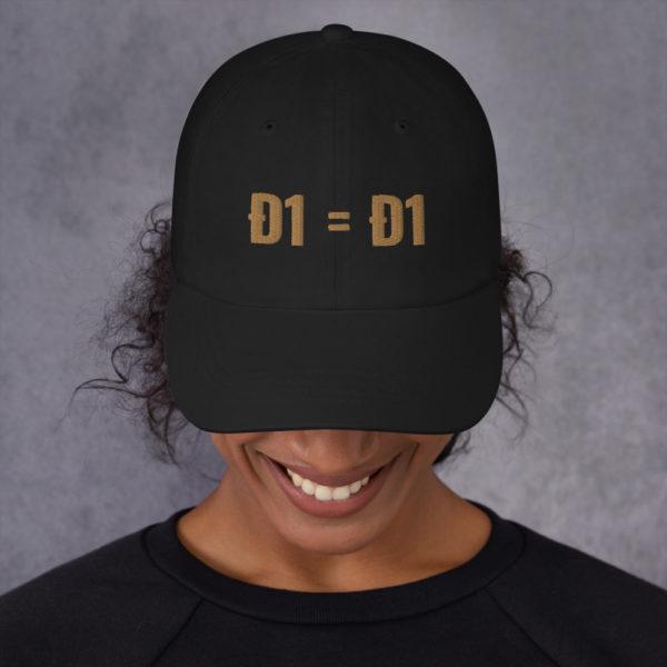 classic dad hat black front 60b9af1decde7