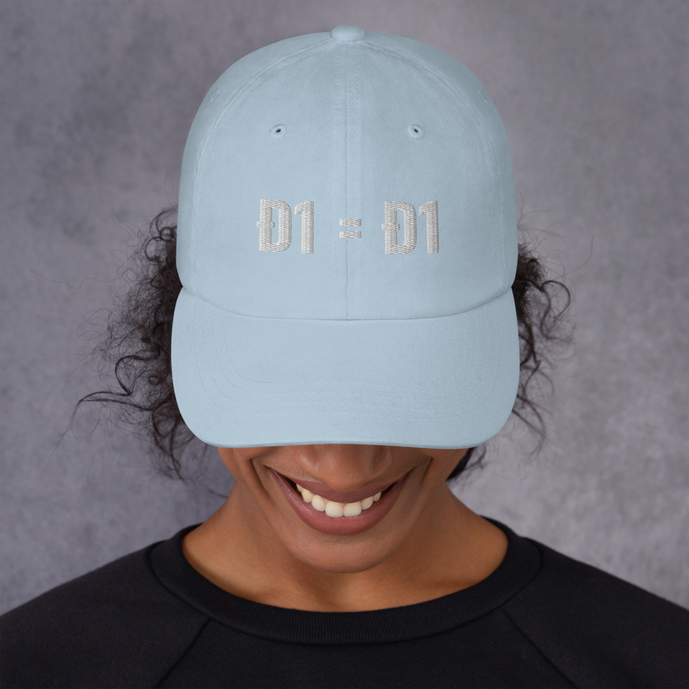 classic dad hat light blue front 60bb82665128f