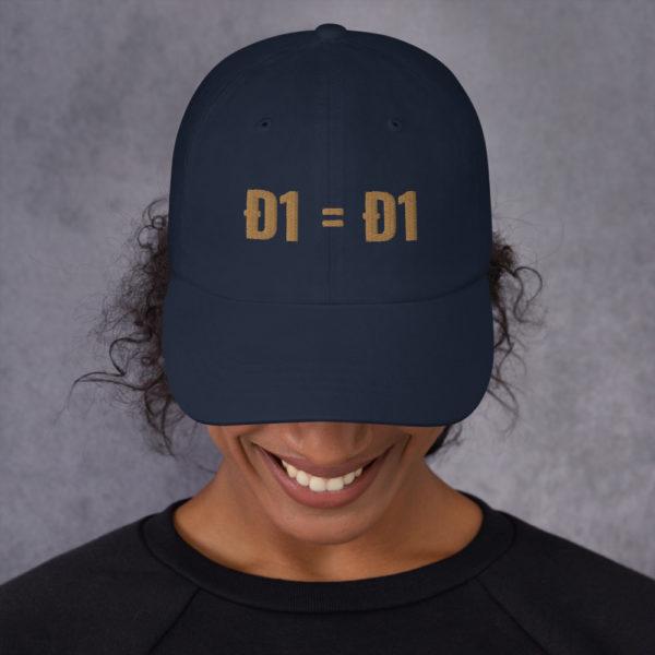 classic dad hat navy front 60b9af1decb98