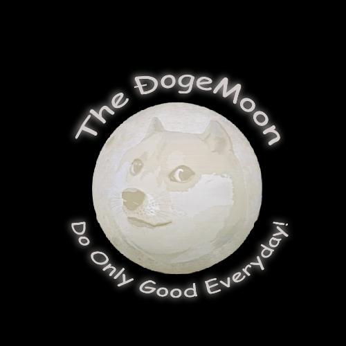 the dogemoon logo