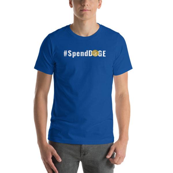 unisex premium t shirt true royal front 60b8ced54b2f8